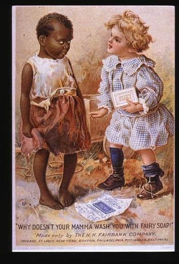 rasistisk reklam vintage