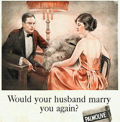 vintage reklam för tvål