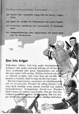 fritt krig i Sverige