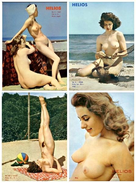 naket nudisttidning 50-tal